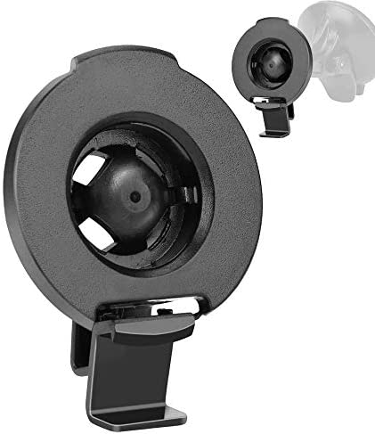 YiePhiot GPS Mount for Garmin Nuvi Garmin Universal Mount Connects Suction Cup with Unit, Garmin GPS Accessories Bracket Cradle Holder Compatible with Nuvi 2577LT 42LM 44 52LM 54 55LMT 56 2457 2497