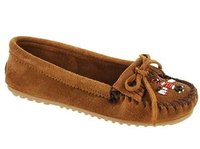 Minnetonka Women's Thunderbird II 602 Shoes Brown