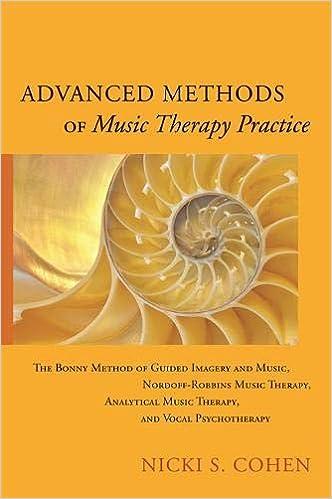 Amazon com: Advanced Methods of Music Therapy Practice