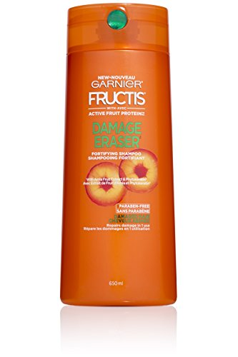 Garnier Fructis Damage Eraser Shampoo, Distressed, Damaged Hair, 22 fl. oz.