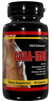 GABA-1500 - 90 gélules 1500mg GABA acide gamma-aminobutyrique Acide aminé comme un neurotransmetteur