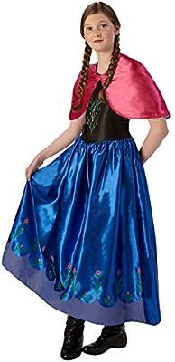 Frozen - Disfraz de Anna classic para niña, infantil talla 9-10 ...