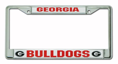 Georgia Bulldogs Logo Plate (NCAA Georgia Bulldogs Chrome Plate)