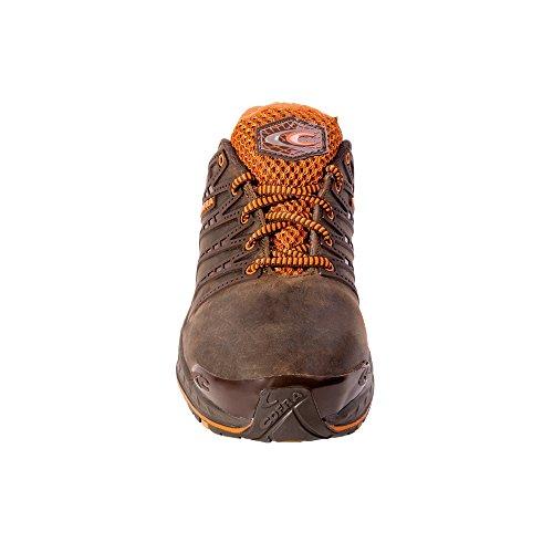 Cofra zapatos de seguridad eliminaciones 19030-002 New grevinga S3 SRC, Marrón, 19030-002