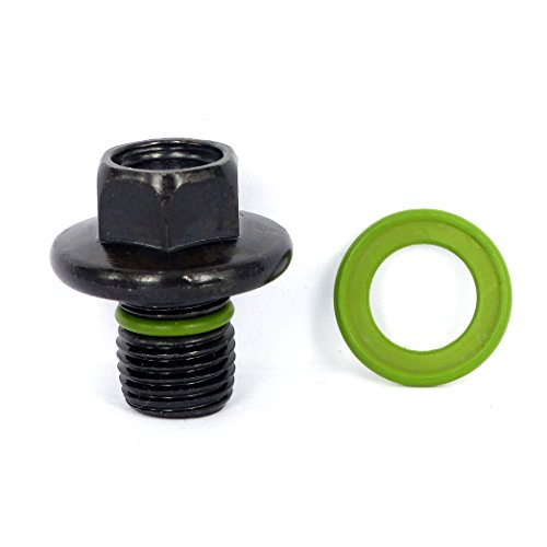 SMART-O F3 Oil Drain Plug M14x1.5mm - Engine oil Pan Protection Plug with Anti-leak & Anti-vibration function - Install Faster, Re-usable and Eco-friendly (1997 Mercury Mountaineer Engine)