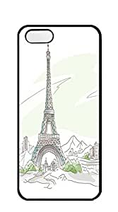 TUTU158600 Custom made Case/Cover/skin case iphone 5s camo - Eiffel Tower little star
