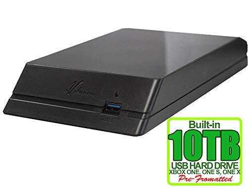 Avolusion HDDGear 10TB (10000GB) USB 3.0 External Xbox Gaming Hard Drive (Xbox Pre-Formatted) - Xbox ONE, Xbox ONE S, Xbox ONE X - 2 Year Warranty