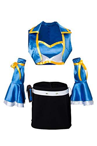 Ya-cos Lucy Heartfilia Cosplay Costume Dress Up Fairy Tail Season 2 Halloween Cosplay Full -