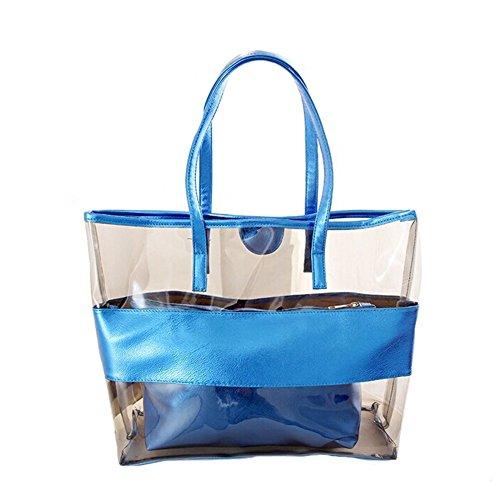 ANDAY - Bolso mochila  para mujer beige champán talla única azul