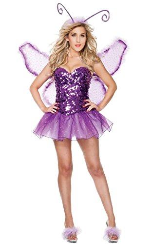 JJ-GOGO Halloween Sexy Butterfly Costume