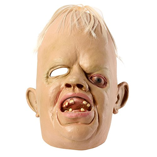Halloween The Goonies Costume Sloth (BangBang Cyclopia Bucktooth Latex Mask Horrible Mask Halloween)
