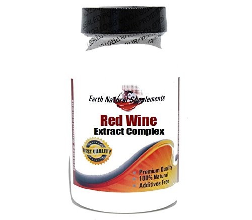 Red Wine Extract Complex * 90 Caps 100 % Natural - by Ear...