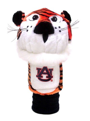 Team Golf NCAA Auburn University Tigers Mascot Golf Club Headcover, Fits most Oversized Drivers, Extra Long Sock for Shaft Protection, Officially Licensed Product ()