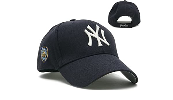 Amazon.com   New York Yankees NYPD MLB Navy Franchise Hat   Baseball Caps    Sports   Outdoors 71f84e7bd2c