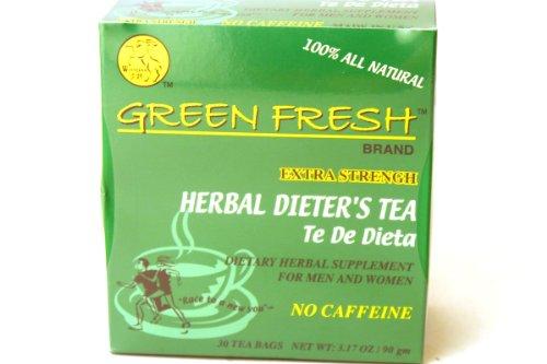 (Green Fresh Extra Strength Herbal Dieters Tea, 30 Tea Bags)