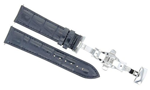 17,18,19,20,20,21,22,23,24MM LEATHER BAND STRAP CLASP FOR MOVADO WATCH 2B -  Ewatchparts, 803261-9-1