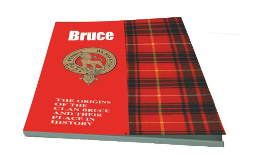 Bruce Scottish Clan History Booklet