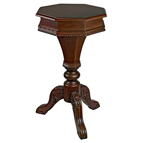 Design Toscano Pembroke Octagonal Hinged Side Table ()