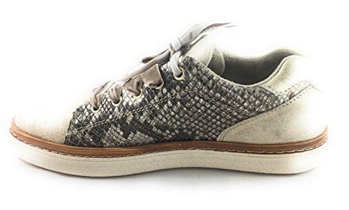 dorado de cordones dorado Tozzi Marco Zapatos mujer para AwOzATCq