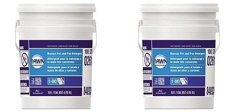 Dawn Professional Pot and Pan Detergent, Regular Scent, 5 Gallons (2-(Pack))