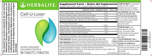 Herbalife Cell-U-Loss® Weight Loss Enhancer Natural Detoxification and Healthy Elimination of Water by Herbalife (Image #2)