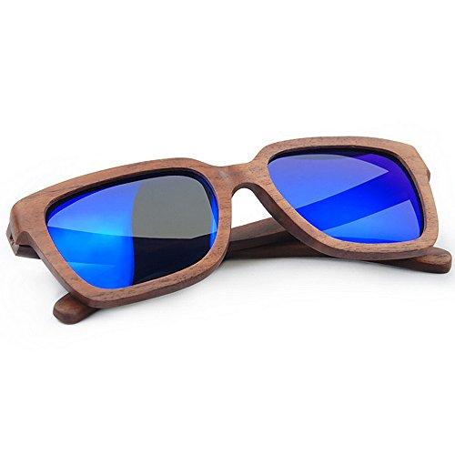 Mano UV de de Retro Hombres Lens Sol Gato Aclth Sol la Protección a de de Ojos de de de Gafas Sol Hechos de TAC Esqu los Gafas Polarized Gafas de Gafas bambú Personalidad conducción Playa de 8awzqxBw