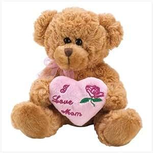 I Love Mom Teddy Bear - Style 39945