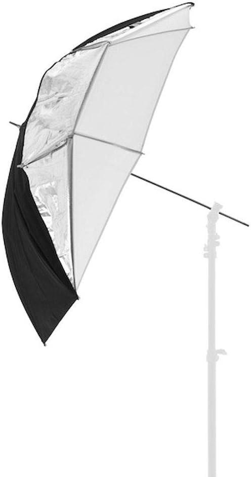 /Silber//Wei/ß Lastolite von Manfrotto All-in-One 99/cm Regenschirm/