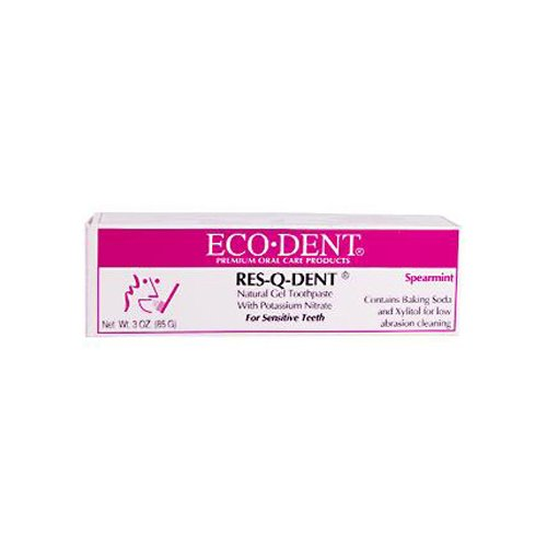 Eco-DenT Natural Dental Care Res-Q-Dent Gel Toothpaste 3 oz
