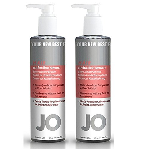 System Jo Hair Reduction Serum Reduces Unwanted Hair Growth Safe to Use with All Forms of Hair Removal : Size 4 Fl Oz. (Pack of 2)
