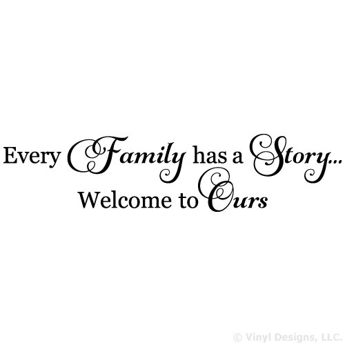 Every Family Welcome Vinyl Sticker