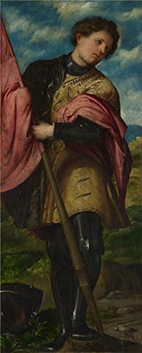 Mode 2016 Homme Costume (Oil Painting 'Girolamo Romanino Saint Alexander ' Printing On Polyster Canvas , 24 X 60 Inch / 61 X 152 Cm ,the Best Bar Artwork And Home Artwork And Gifts Is This Best Price Art Decorative Prints On Canvas)