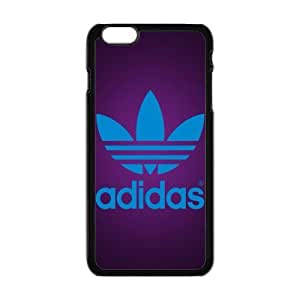 "The logo of Adidas for Apple iPhone 6 Plus 5.5""Black Case Hardcore-4"