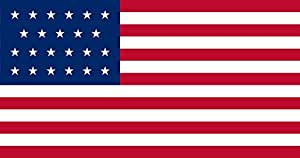 magFlags Large Flag United States 1820-1822 | US Flag with 23 Stars | Landscape Flag | 1.35m² | 14.5sqft | 85x160cm | 33x60inch - 100% Made in Germany - Long Lasting Outdoor Flag