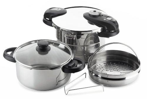 Fagor Futuro 5-Piece Pressure-Cooker Set by Fagor