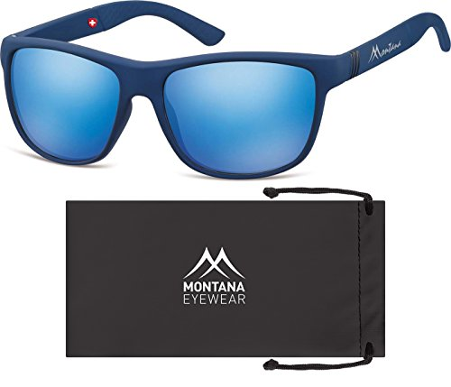 Multicoloured Multicolore Montana Soleil Revo Lunettes Blue Black Blue Mixte de BXT4U6