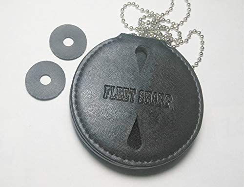 Fleetsharp of Treasury TV Series//Movie Prop pin Back with Leather Holder Dep Neck Chain /&Card Belt Clip