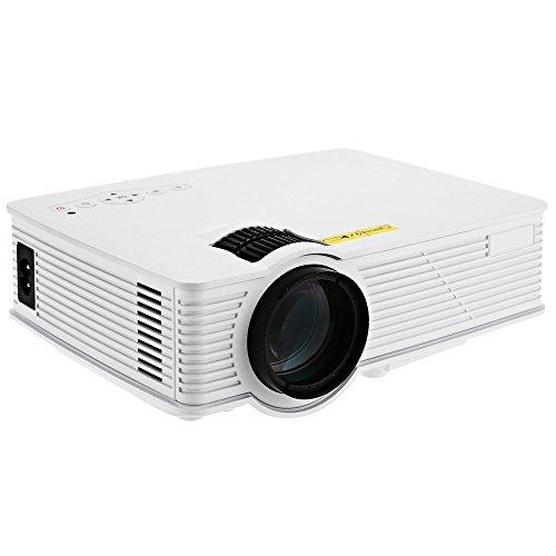 SmartLife Mini Heimkino 2000 Lumen 1920 x 1080 Pixel Multimedia HD LCD Projektor