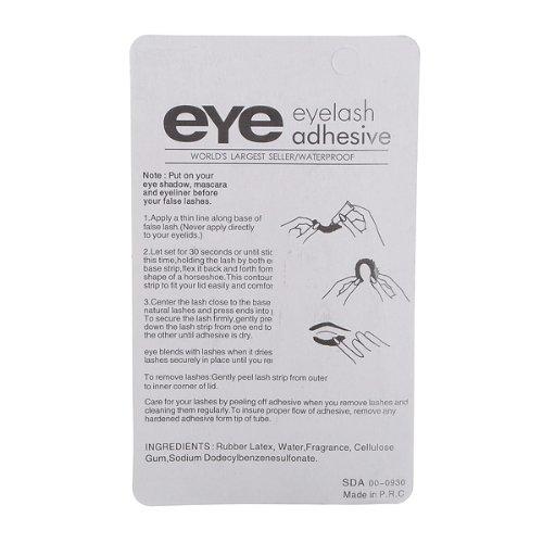 White Eyelashe Glue For False EyeLashes Double Eyelid BBS