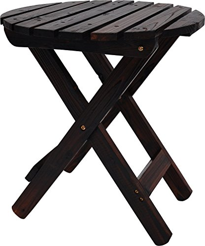 Adirondack Cedar Side Table - 9
