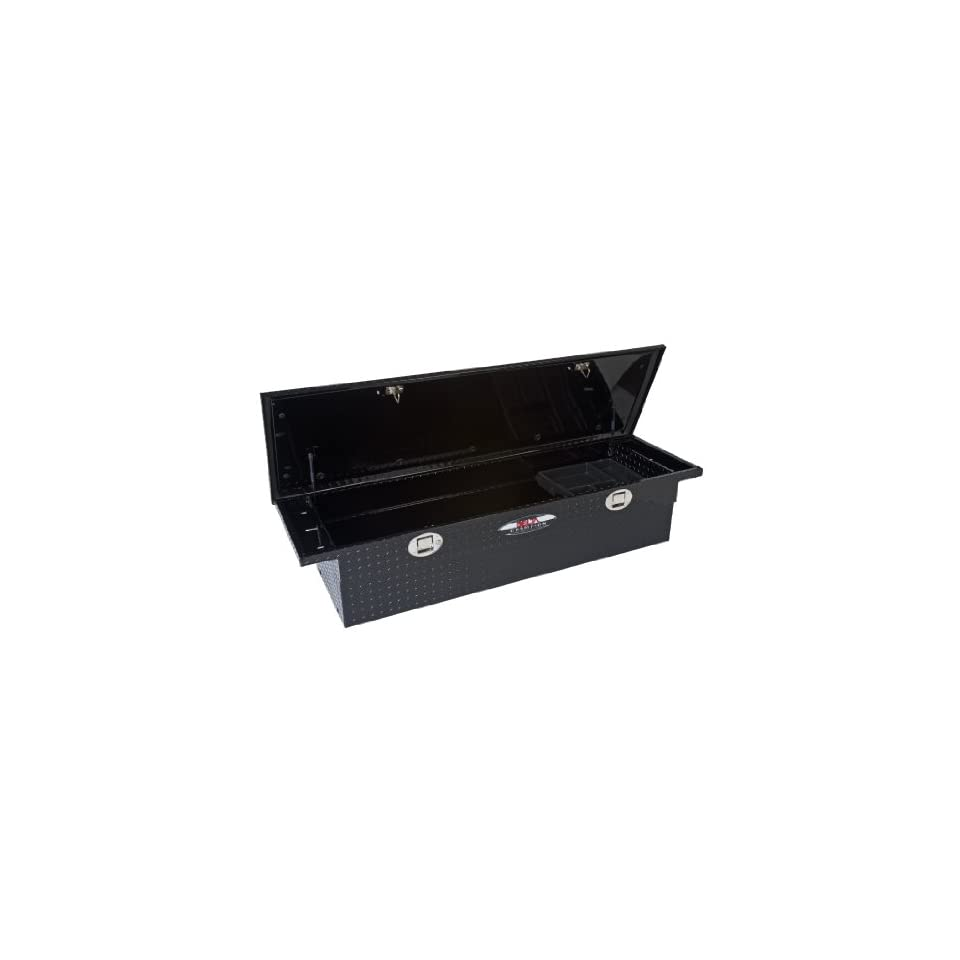 Trail FX 35212563 Crossover Truck Bed Tool Box, Black, 60, Low Profile, For Select Trucks
