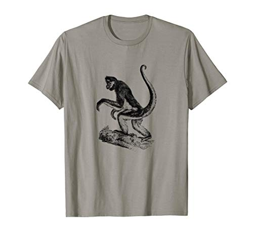 (Spider Monkey Print T-Shirt)
