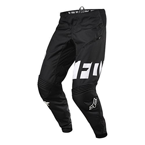Fox Racing Demo DH Pants - Men's Black/White, 34