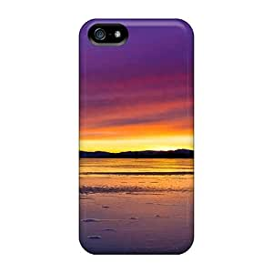 Williamwtow CHOyYtT4583FYUAO Case Cover Iphone 5/5s Protective Case Ice Sunset Reflection
