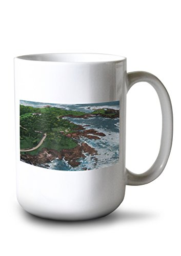 - Along 17 Mile Drive on Monterey Peninsula (15oz White Ceramic Mug)