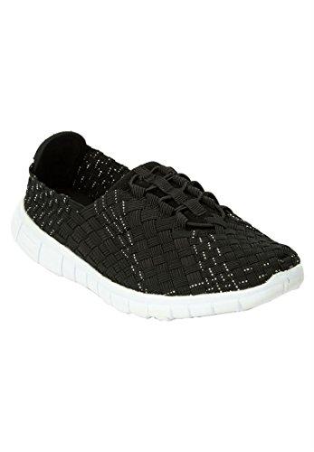 Koopje Catalogus Outlet Comfortview Plus Size Sami Sneakers Zwart