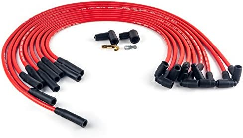 WIRE9875M BBC Big Block Chevy 454 Spark Plug Wires HEI STR Over Valve on