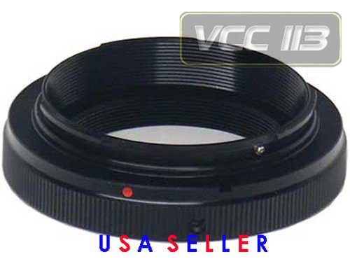 Vivitar T2 Lens Adapter Ring for Vivitar SLR Camera Lens to Nikon (Vivitar Ring)