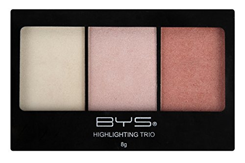 BYS Highlighting Trio Palette Glistening - 1 Matte and 2 Shi