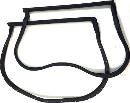 APDTY 141252 T-Top Weatherstrip Kit (18 pins), Latex ()